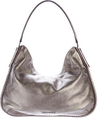 Jimmy Choo Jimmy Choo Metallic Shoulder Bag