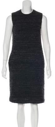 Hache Sleeveless Bouclé Dress