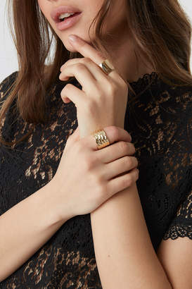 Na Kd Accessories Two Chunky Rings Gold