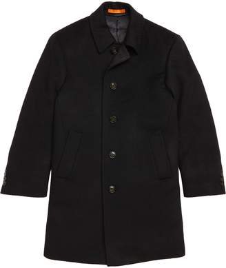 Tallia Down Insulated Wool Blend Coat
