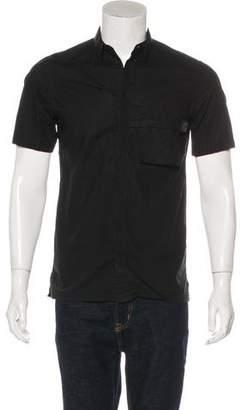 Helmut Lang Deconstructed Short Sleeve Shirt