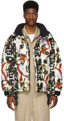 Burberry Multicolor Tissington Down Puffer Jacket