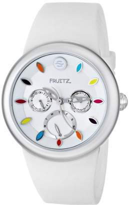 Philip Stein Teslar Fruitz by Unisex F43S-TF-W Analog Display Japanese Quartz White Watch