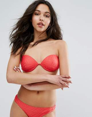 Vero Moda Geo-Tribal Bikini Top