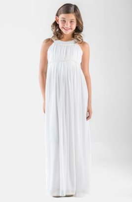 Us Angels Sleeveless Chiffon Dress