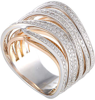 Chimento 18K Two-Tone 1.09 Ct. Tw. Diamond Ring