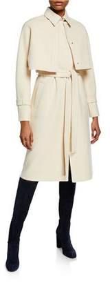 Loro Piana 3-In-1 Baby Cashmere Trench Coat