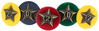 DSQUARED2 star embellished hair clip