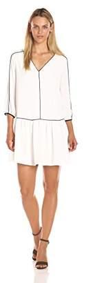 Cooper & Ella Women's Tessa Piped Dress