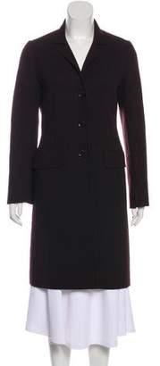 Max Mara Virgin Wool Knee-Length Coat
