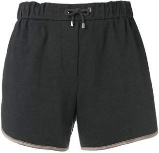 Brunello Cucinelli classic track shorts