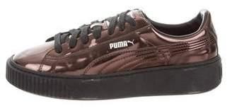 Puma Metallic Low-Top Sneakers