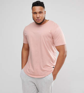 ONLY & SONS Crew Neck Longline T-Shirt