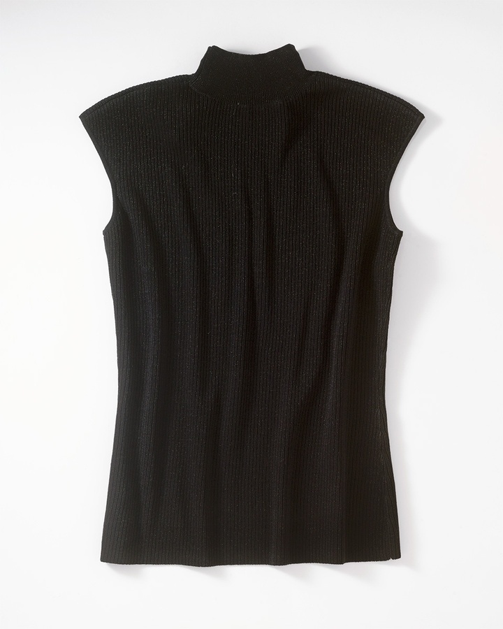 Coldwater Creek Mock neck shell
