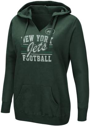 Majestic Women's New York Jets Quick Out Hoodie