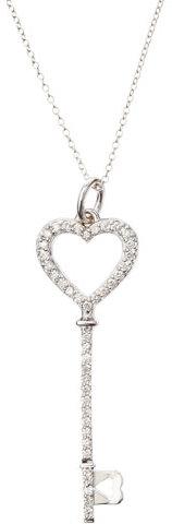 KC Designs Diamond Heart Key Necklace