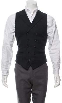 Dolce & Gabbana Notch Lapel Suit Vest w/ Tags