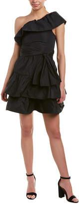 Pinko One-Shoulder Cocktail Dress