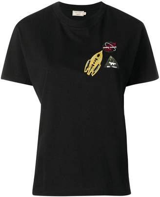 MAISON KITSUNÉ Astronaut patch T-shirt