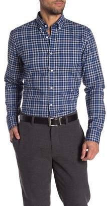 Nordstrom Slim Fit Plaid Sport Shirt