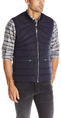 French Connection Men's Spitfire Quilted Vest