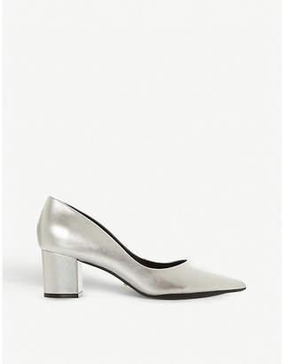 Dune Arve metallic leather courts