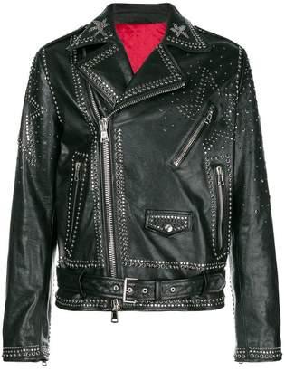 Valentino studded biker jacket