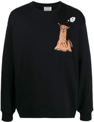 Acne Studios oversized crew neck sweater