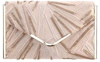 Nina Embroidery Envelope Clutch Bag