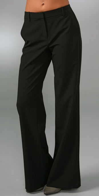 Theory Alleen Wide Leg Trousers