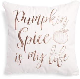 20x20 Pumpkin Spice Pillow