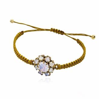 Rosaspina Firenze Florentine Garden Macrame Bracelet
