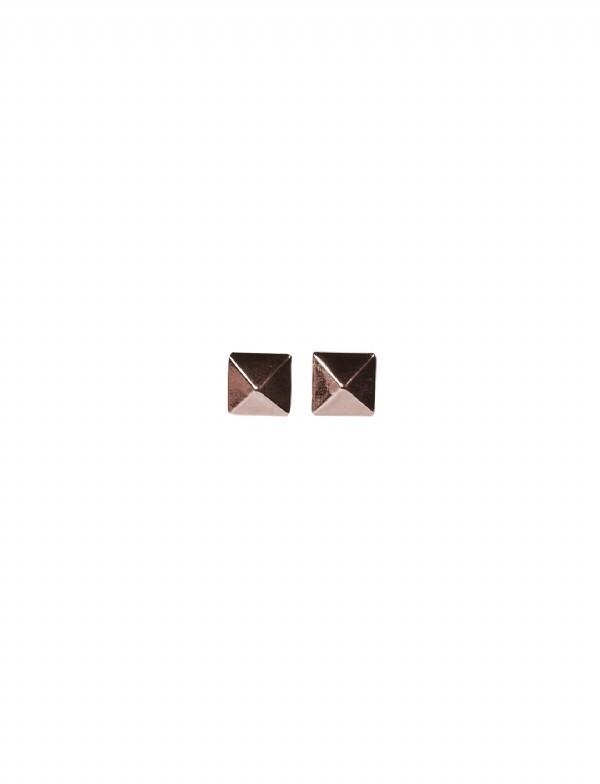 Jules Smith Cairo Pyramid Stud Earrings
