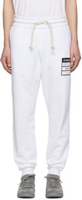 Maison Margiela White French Terry Stereotype Lounge Pants