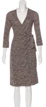 Diane von Furstenberg Julianetta Maternity Silk Dress