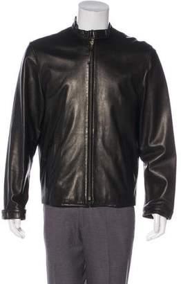 Lanvin Leather Zip Jacket