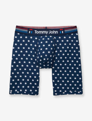 Tommy John Cool Cotton Star Print Boxer Brief