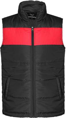 Puffa My Mix Trendz Mens Thick Winter Padded Down Quilted Ribbed Bodywarmer Gilet Jacket