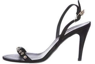 Chanel Star Embellished Sandals