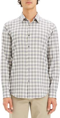 Theory Irving Slim Fit Flannel Sport Shirt