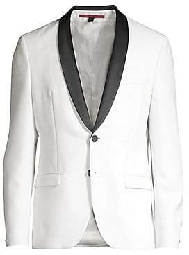 HUGO Men's Extra Slim J-Shawl Collar Dinner Jacket