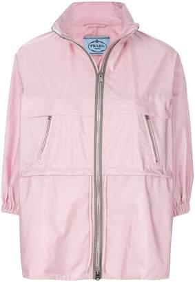 Prada cropped sleeved jacket