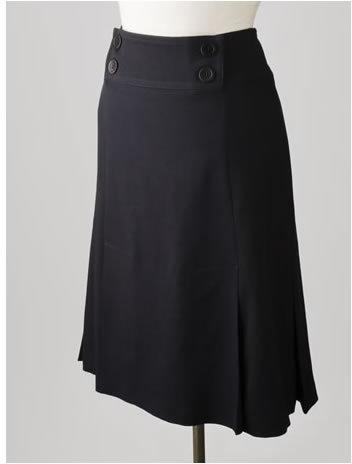 Anna Thomas Wool Calvary Skirt