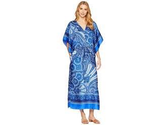 Lauren Ralph Lauren Paisley Georgette Maxi Dress