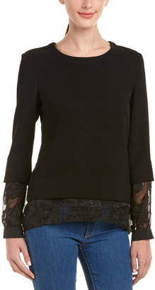 BCBGeneration Two-Fer Top