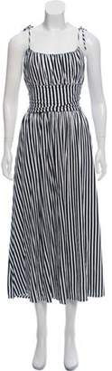 MDS Stripes Striped Maxi Dress