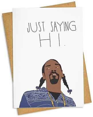 Tay Ham Just Sayin' Hi Card