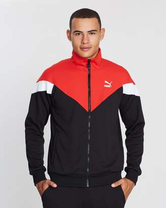 Puma Iconic Mesh Knit Track Jacket