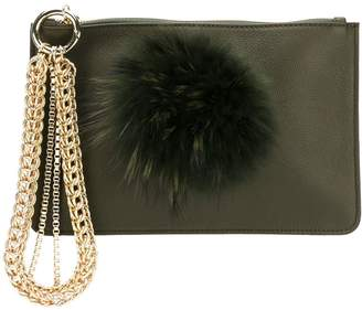 Mr & Mrs Italy embellished clutch