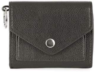 Metallic Sky Card Wallet Flapover